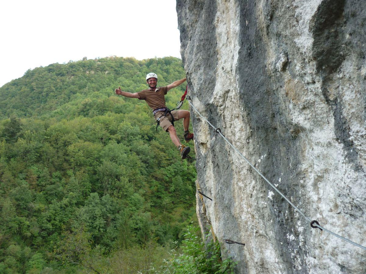 Klettersteig Set Ausborgen : Klettersteige und freeclimbing